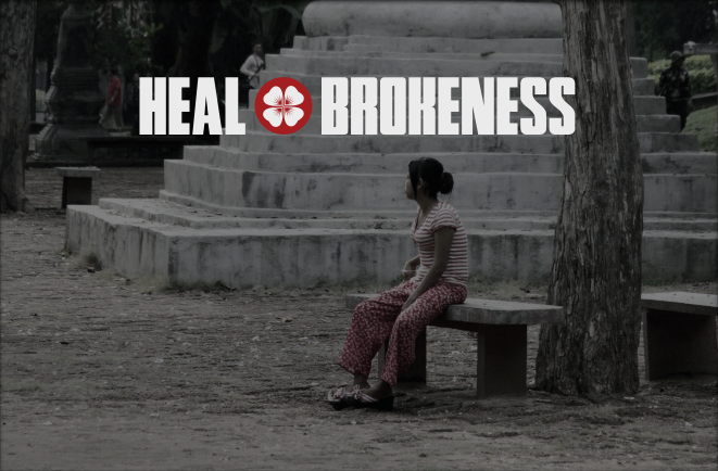 Heal Brokenness Banner